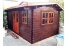 Casetta in legno Nida 15m² (5x3m), 34mm
