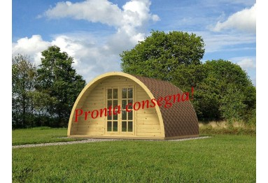 Casetta in legno M POD PLUS 12m² (4x3m), 44mm