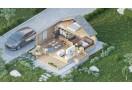 Casa da vacanza Aura Plus 50m² (6x8m) + annesso, 44mm