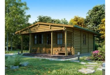 Casa da vacanza Baltic 36m² (6x6m), 68mm
