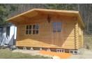 Casetta in legno Bremen 16m² (4x4m), 68mm
