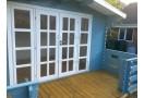 Casetta in legno Brighton 12m² (4x3m), 34mm