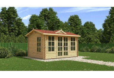 Casetta in legno Clockhouse 12m² (4x3m), 44mm
