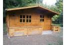 Casetta in legno Faro 20m² (4x5m), 44mm