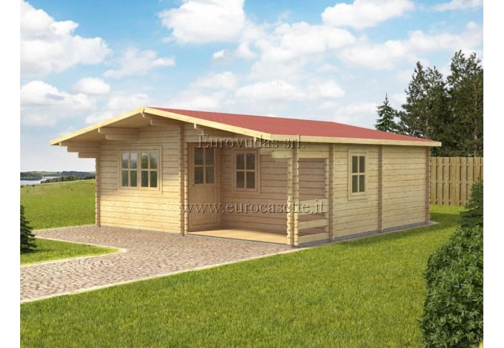 Casa da vacanza Fay 36m² (6x6m), 44mm
