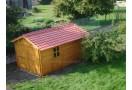Garage in legno 15m² (3x5m), 34mm