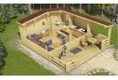 Casa da vacanza Gorbea 29,50 m²  (5x5,9m), 68mm