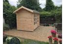 Casetta in legno Kent 7,5 m² (3x2,5m), 44mm