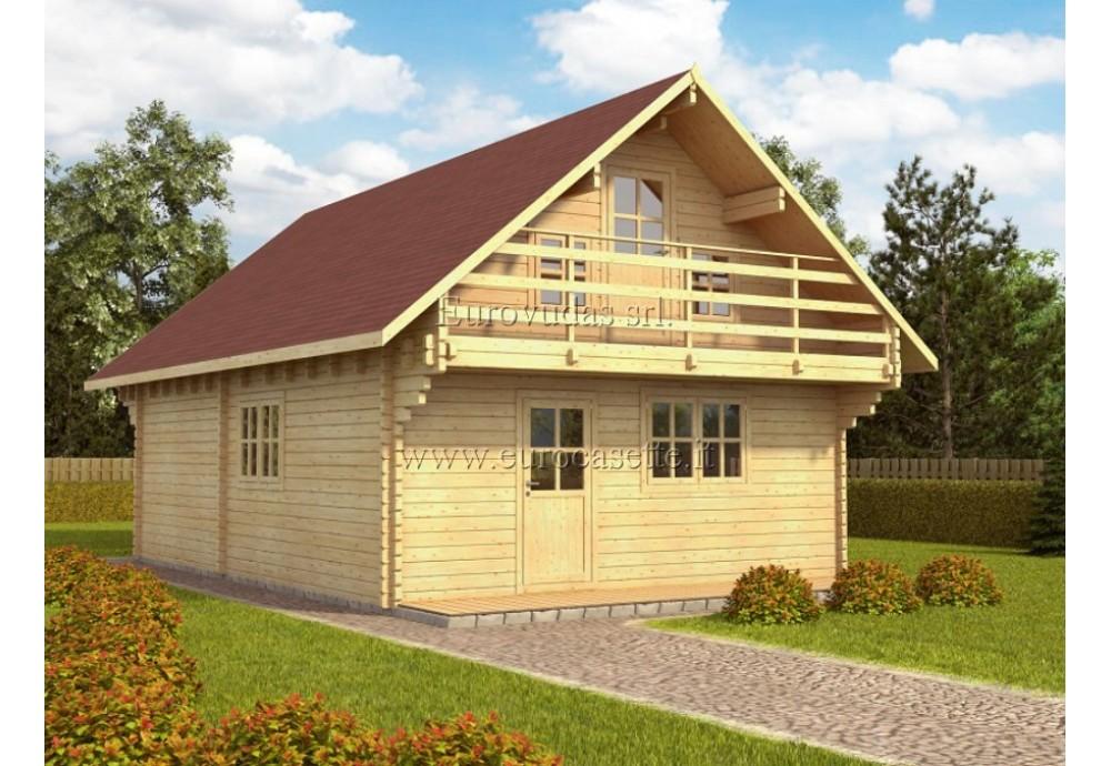 Casa da vacanza Lincoln 95m² (6x9m), 68mm
