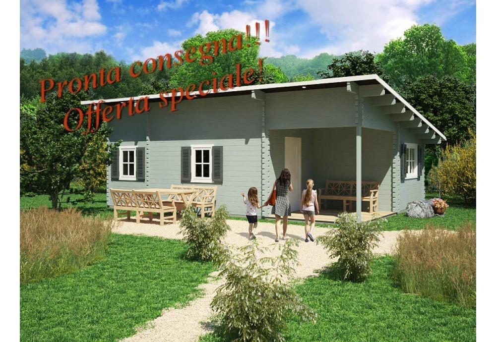 Casa da vacanza Lora Moderna 51m² (6X8,5m), 68mm