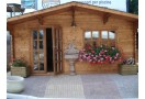Casetta in legno Malaga 25m² (5x5m), 34mm