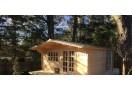 Casetta in legno Malaga 20m² (4x5m), 34mm