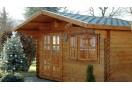 Casetta in legno Malaga 20m² (5x4m), 34mm