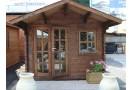 Casetta in legno Monaco 12m² (3x4m), 44mm