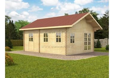 Casa da vacanza Nottingham 27m² (4,5x6m), 44mm