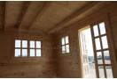 Casetta in legno Nida Plus 15m² (5x3m), 44mm
