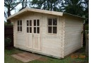 Casetta in legno Oxford 12m² (4x3m), 34mm