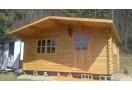 Casetta in legno Bremen 20m² (5x4m), 68mm