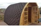Casetta in legno Iglu POD 12m² (4x3m), 34mm