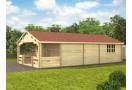 Casa da vacanza TYP 5×10m (50m²), 68 mm