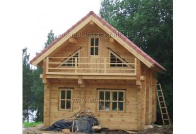 Chalet in legno su misura